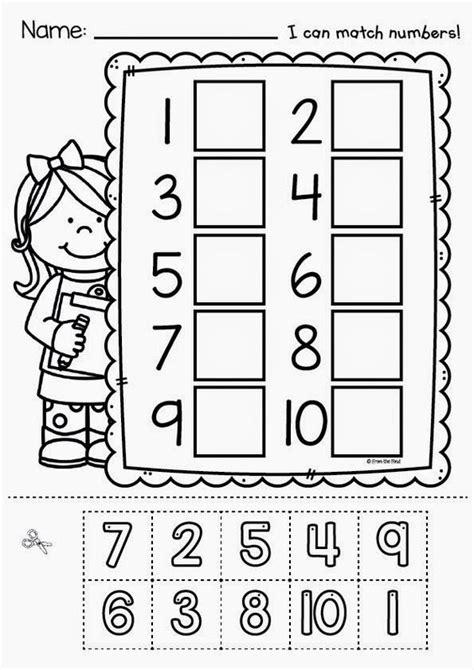 free printable preschool cut and paste worksheets cut and paste number worksheets and worksheets on pinterest