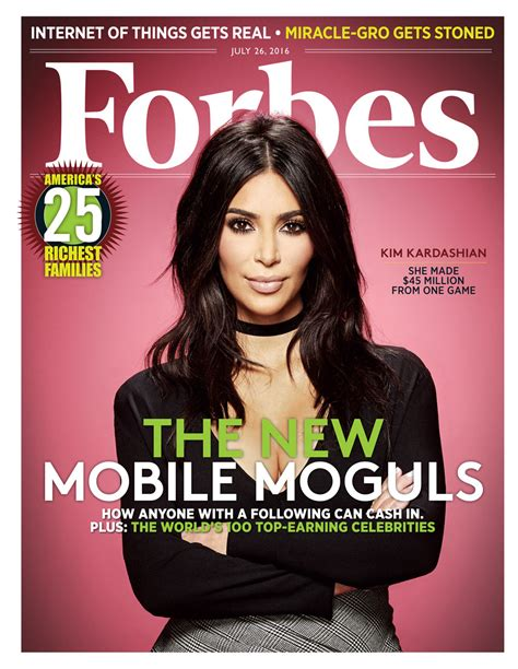 On The Cover Of Magazine by Covers Forbes Magazine S Mobile Moguls