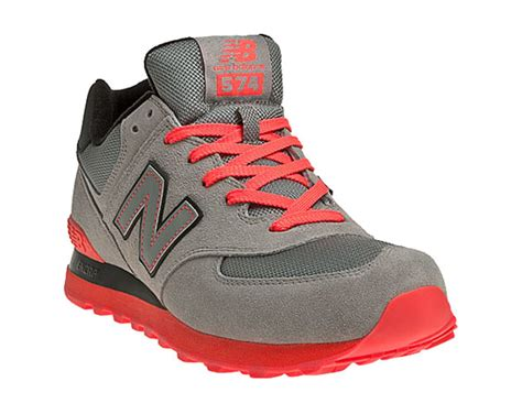 New Balance Black And Orance new balance 574 grey orange black