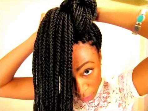 cutting hair from tracks to make senegalese twists 3 ways to style senegalese twists doovi