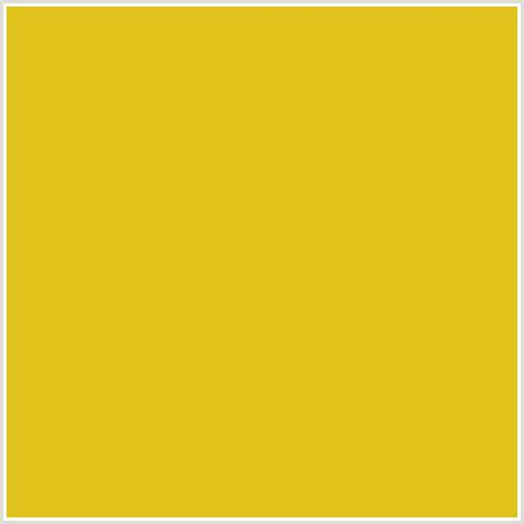 hex color yellow e0c21b hex color rgb 224 194 27 sunflower yellow