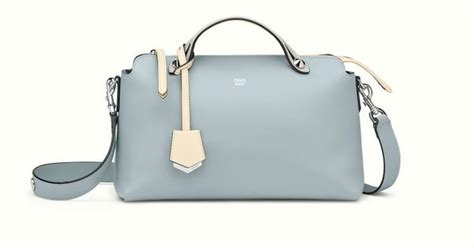 Fendi By The Way Tricolour Micro Edition7002 the fendi by the way mini bag in powder blue fendi by