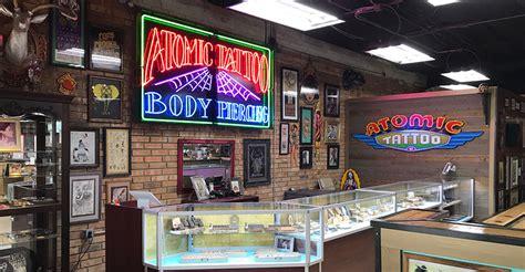 tattoo shops beaumont tx atomic piercing