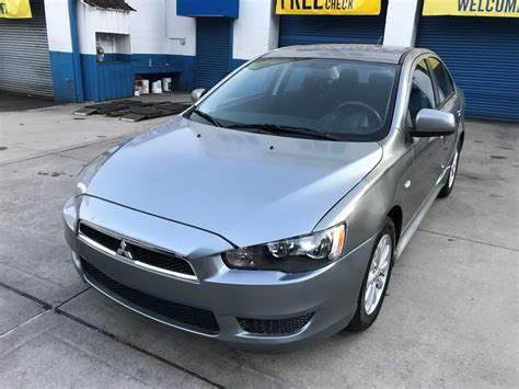 used mitsubishi lancer for sale used 2012 mitsubishi lancer sedan 5 990 00