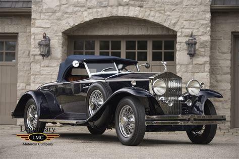 rolls royce roadster 1931 rolls royce phantom ii henley roadster complete