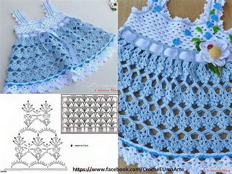vestido nia crochet varios patrones gr 225 ficos para hacer vestidos en crochet o