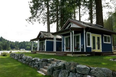 Small Home Communities In Washington State Wildwood Lakefront Tiny Cottage Community