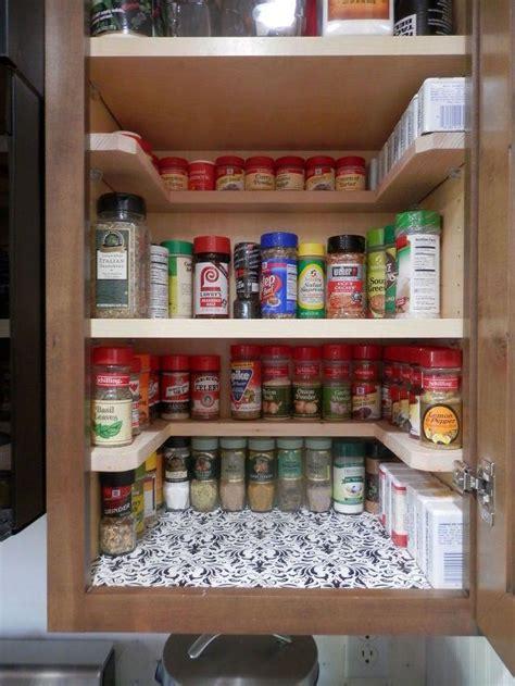 easy diy spice storage ideas citchen