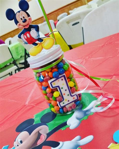 25 best ideas about mickey mouse centerpiece on