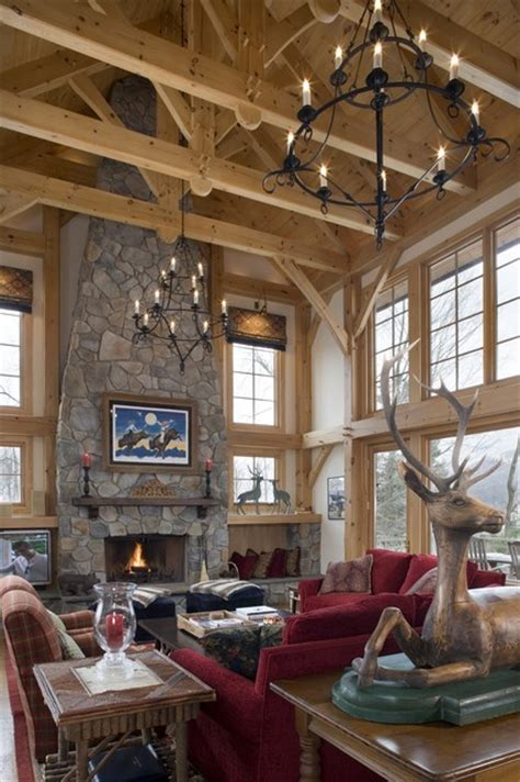 timber frame great rooms timber frame great room