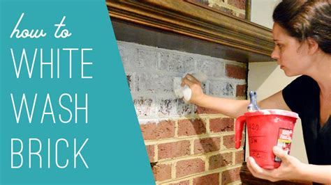 how to whitewash brick house how to whitewash brick youtube