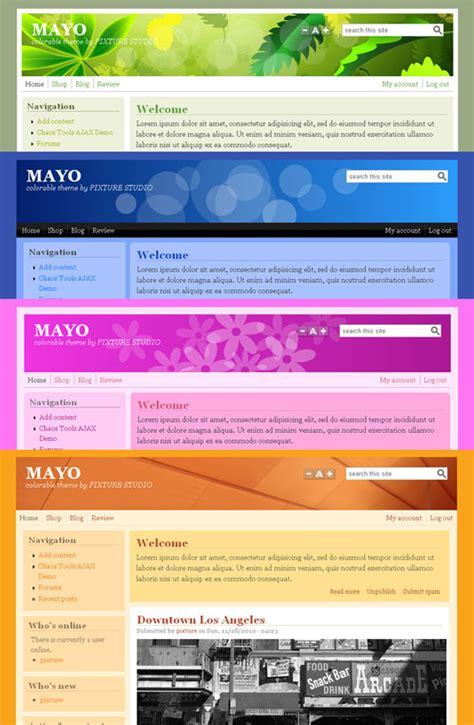 drupal themes list the 50 best drupal themes creative bloq