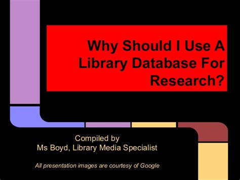 Should I Take Mba And Ms by Why Should I Use A Library Database For Research