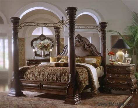 King Canopy Bedroom Sets Sale by Canopy Bedroom Sets For Sale On Margaux Cabernet King