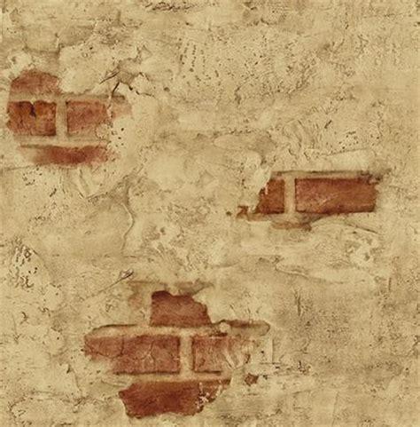 Chicago Wall Murals plastered exposed brick wallpaper mediterranean
