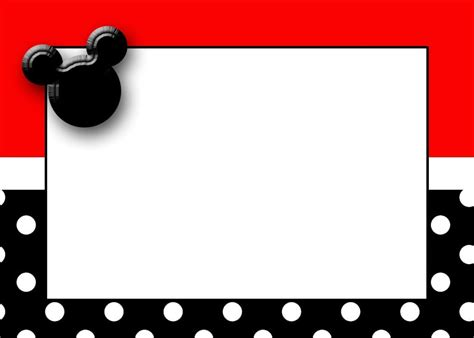 free invitation maker mickey mouse free mickey mouse invitation downloads