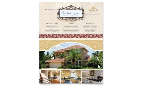microsoft publisher templates for real estate flyers luxury real estate flyer template word publisher