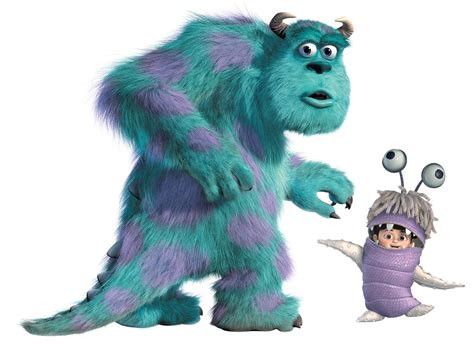 New giant sully amp boo wall decals monsters inc room stickers kids bedroom decor ebay