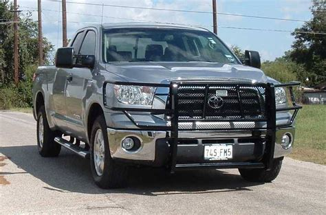 Toyota Tundra Guards Ranch Ggt07hbl1 Black Legend Grille Guard Toyota