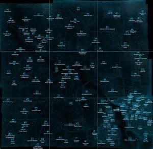 Fallout 3 World Map maps world map fallout 3
