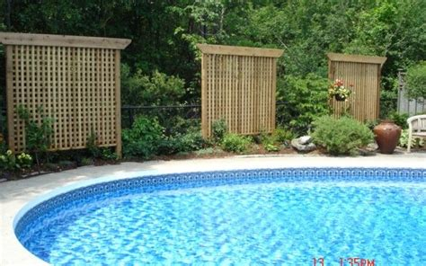patio privacy screen pool privacy