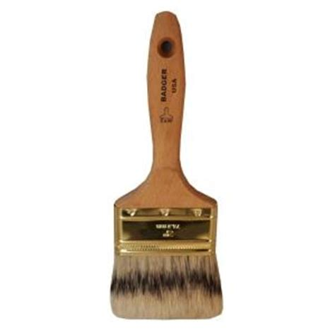 home depot paint brushes badger 3 in flat marine paint brush badger 0300 the