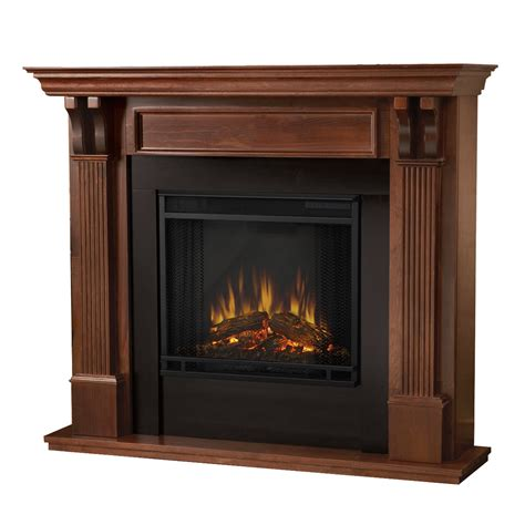 fireplace indoor electric real indoor electric fireplace in mahogany