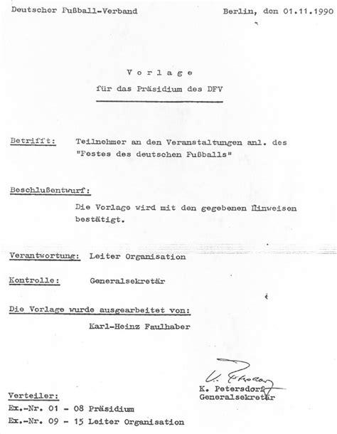 Abmeldung Schreiben Muster Verein Leipziger Fu 223 Ballverband 1990 1999