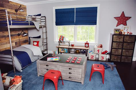 red white and blue sports themed boys room interior red white and blue kids rooms project junior