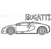 Bugatti Coloring Pages Page 1