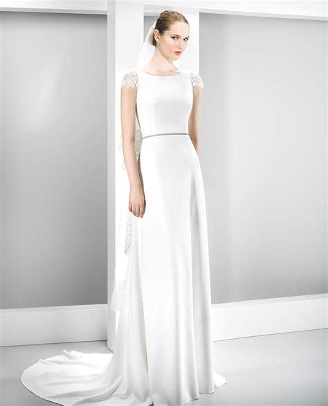 imagenes vestidos de novia manga corta vestidos de novia espalda descubierta el blog de ana suero