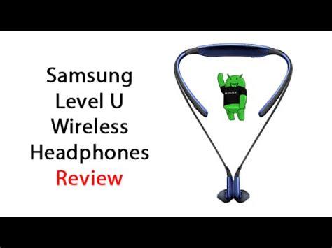 u samsung headphones samsung level u wireless headphones review