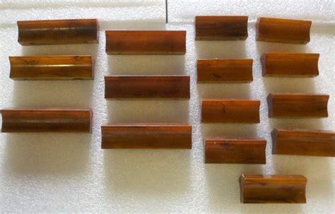 bakelite hardware drawer pulls lot of 15 butterscotch bakelite cabinet drawer pulls
