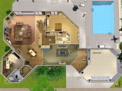 house layout sims house layouts home design