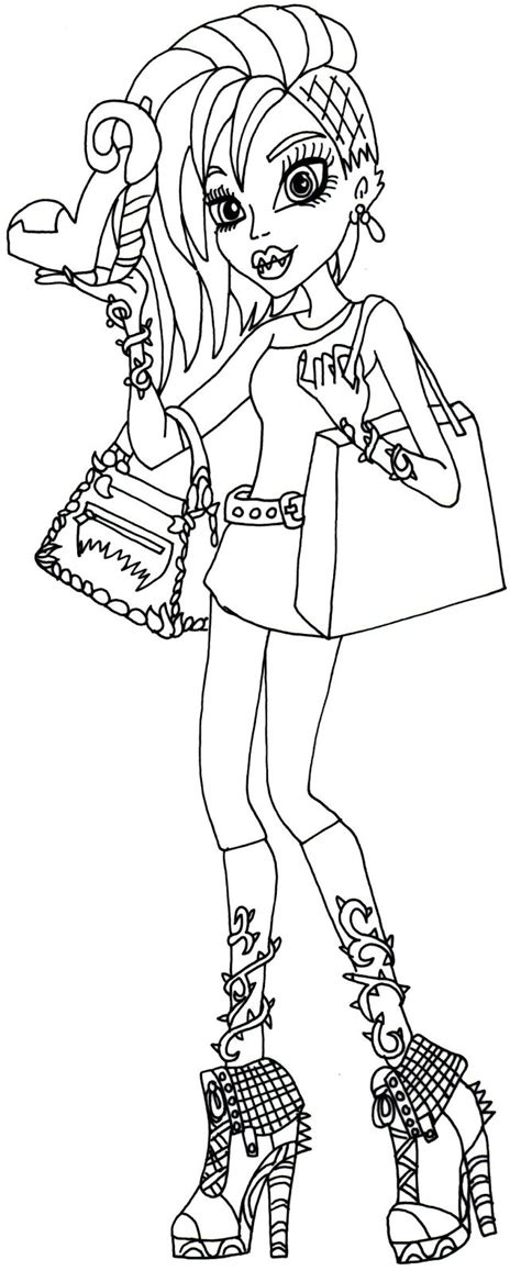 love monster coloring page free printable monster high coloring pages monster high