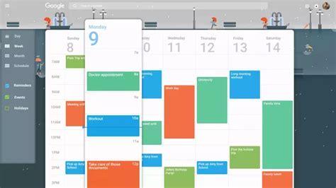 google calendar design update 9 answers when will google s web calendar get material