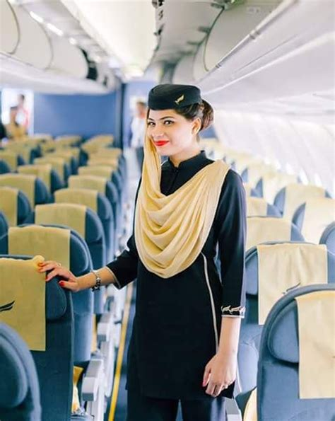 Air Blue Cabin Crew by Review Of Shaheen Air International Flight From Kuwait
