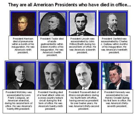 Which Presidents Died In Office all this is that being president more dangerous than