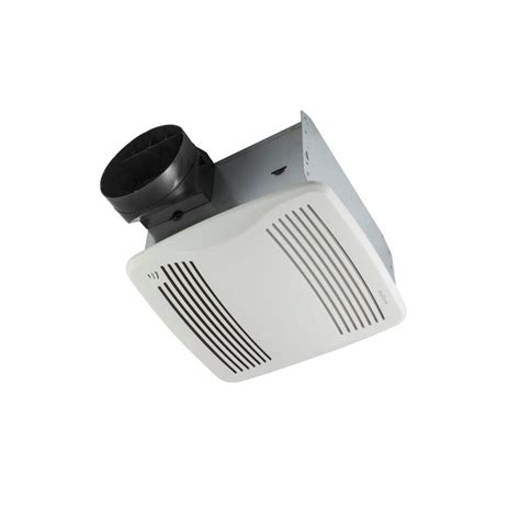 bathroom exhaust fan with humidity sensor nutone qtx series 110 cfm ceiling humidity
