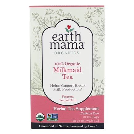 Dijamin Earth Baby Organic Milkmaid Tea 16 Tea Bags 35g buy earth baby organic tea milkmaid 16 tea bags at luckyvitamin