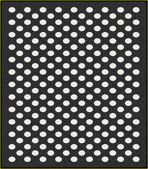 Black And White Polka Dot Rugs by Black And White Polka Dot Rugs Area Home Design Ideas