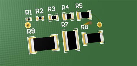 chip resistor spice model resistors smd step iges 3d cad model grabcad