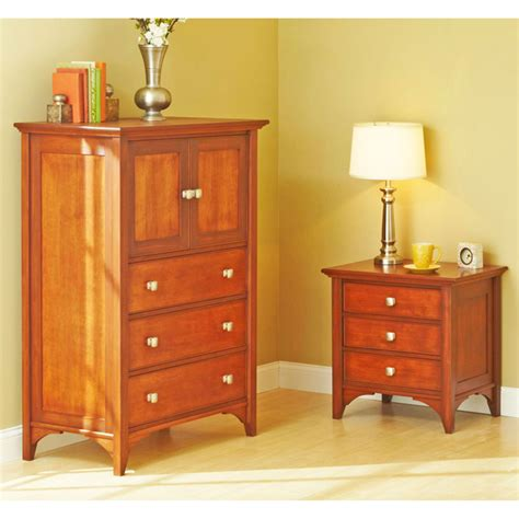 Bedroom Dresser Plans by Traditional Dresser Nightstand Woodworking Plan From