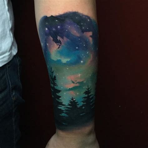 night sky tattoo designs sky best ideas gallery