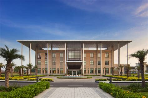 Mba Sustainable Development India by Perkins Eastman Indian School Of Business Mohali Cus