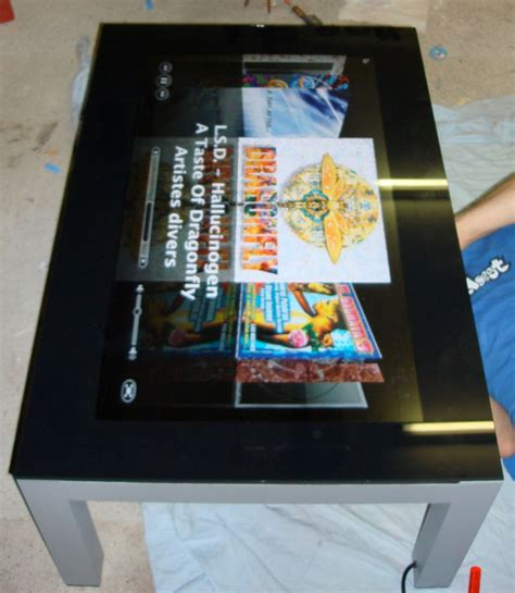 Tablet Coffee Table The Real Mac Tablet Is A Coffee Table Casemod Technabob