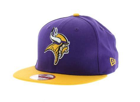 minnesota vikings team colors the baycik snapback new era cap