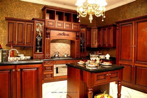 solid wood kitchen cabinets review aliexpress com buy solid wood modular kitchen cabinets