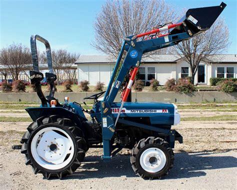Mini Tractor Mitsubishi Reconditioned Mitsubishi Tractors For Sale