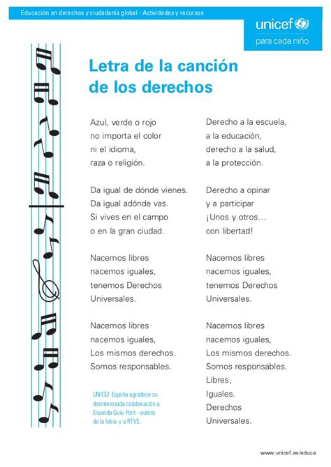 la canci n del d a de la madre song of mothers day letra de la canci 243 n de los derechos